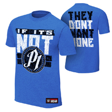 """AJ Styles """"They Don't Want None"""" Authentic T-Shirt"""