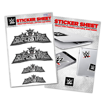 WWE Superstars Sticker Sheet