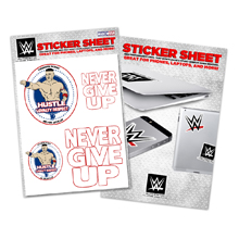 "John Cena ""HLR"" Sticker Sheet"