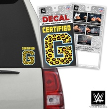 "Enzo & Big Cass ""Certified G"" Car Decal"