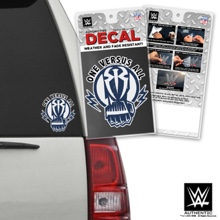 "Roman Reigns ""One Versus All"" Car Decal"