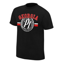 "AJ Styles ""Georgia P1"" Authentic T-Shirt"