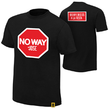 "No Way Jose ""Stop"" Authentic T-Shirt"
