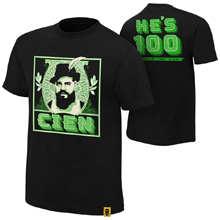 "Andrade ""Cien"" Almas ""He's 100"" Youth Authentic T-Shirt"