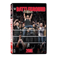 WWE Battleground 2016 DVD
