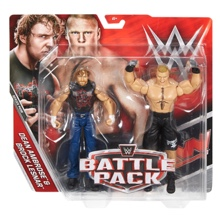 Dean Ambrose & Brock Lesnar 2-Pack  Series 43B Action Figures