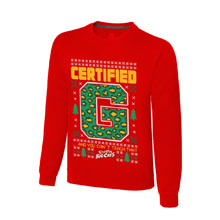 "Enzo & Big Cass ""Certified G"" Ugly Holiday Sweatshirt"