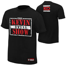 "Kevin Owens ""The Kevin Owens Show"" Youth Authentic T-Shirt"