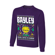 "Bayley ""Hug Like A Champ"" Ugly Holiday Sweatshirt"