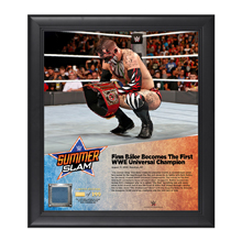 Finn Bálor SummerSlam 2016 15 x 17 Framed Plaque w/ Ring Canvas