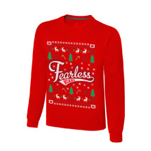 "Nikki Bella ""Stay Fearless"" Ugly Holiday Sweatshirt"