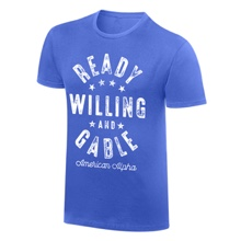 "American Alpha ""Ready Willing and Gable"" Vintage T-Shirt"