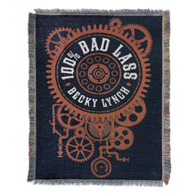"Becky Lynch ""100% Bad Lass"" Tapestry Blanket"