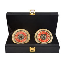 Becky Lynch Championship Replica Side Plate Box Set