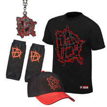 "Dean Ambrose ""This Lunatic Runs The Asylum"" T-Shirt Package"