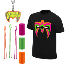 "Ultimate Warrior ""Parts Unknown"" T-Shirt Package"