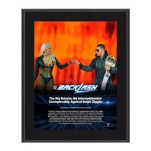 The Miz Backlash 2016 10 x 13 Photo Plaque