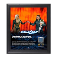 The Miz Backlash 2016 15 x 17 Framed Plaque w/ Ring Canvas