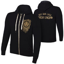 "Becky Lynch ""100% Bad Lass"" Lightweight Hoodie Sweatshirt"