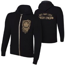 "Becky Lynch ""100% Bad Lass"" Youth Lightweight Hoodie Sweatshirt"