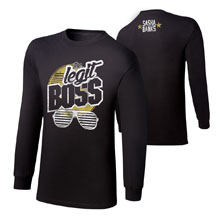 "Sasha Banks ""Legit Boss"" Long Sleeve T-Shirt"