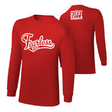 "Nikki Bella ""Stay Fearless"" Long Sleeve T-Shirt"