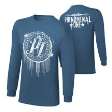 "AJ Styles ""P1"" Youth Long Sleeve T-Shirt"