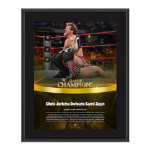Chris Jericho Clash of Champions 2016 10 x 13 Photo Plaque