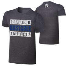 "Dean Ambrose ""Unstable Advisory"" Youth T-Shirt"