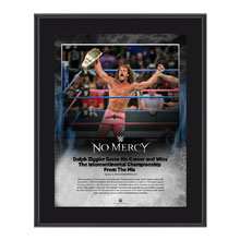 Dolph Ziggler No Mercy 2016 10 x 13 Photo Plaque