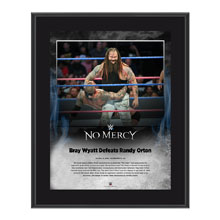 Bray Wyatt No Mercy 2016 10 x 13 Photo Plaque