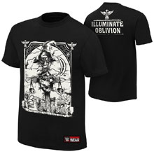 "Bray Wyatt ""Illuminate Oblivion"" Authentic T-Shirt"