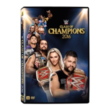 WWE Clash of Champions 2016 DVD