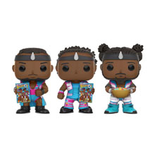 The New Day 3-Pack POP! Vinyl Figures