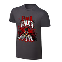 "WWE x NERDS Finn Bálor ""Demon King Rises "" Cartoon T-Shirt"