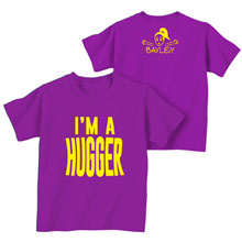 "Bayley ""I'm a Hugger"" Toddler T-Shirt"