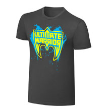 "Ultimate Warrior ""Parts Unknown"" Grey T-Shirt"