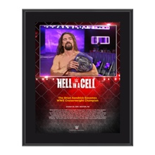 Brian Kendrick Hell In A Cell Commemorative 10 x 13 Photo Plaque