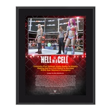 Charlotte Hell in a Cell 10 x 13 Commemorative Photo Plaque