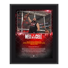 Kevin Owens Hell in a Cell 10 x 13 Commemorative Photo Plaque