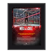 Roman Reigns Hell in a Cell 10 x 13 Commemorative Photo Plaque