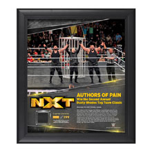 Authors of Pain TakeOver Toronto 15 x 17 Framed Plaque w/ Ring Canvas