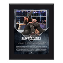 Bray Wyatt Survivor Series 2016 10 x 13 Commemorative Photo Plaque