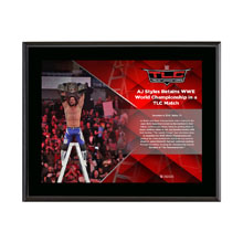 AJ Styles TLC 2016 10 x 13 Commemorative Photo Plaque