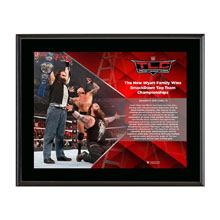 Bray Wyatt TLC 2016 10 x 13 Commemorative Photo Plaque