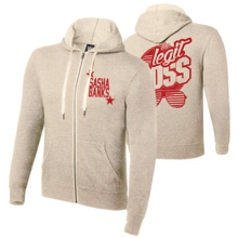 "Sasha Banks ""The Legit Boss"" Sand Lightweight Sweatshirt Hoodie"