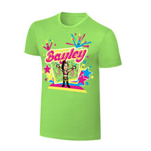 "WWE x NERDS Bayley ""We Want Some Bayley"" Cartoon T-Shirt"
