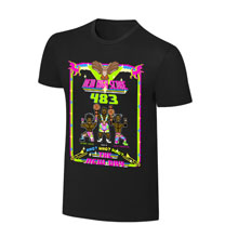 "WWE x NERDS The New Day  ""New High Score"" Cartoon T-Shirt"