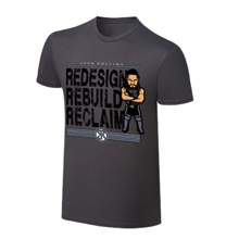 "WWE x NERDS Seth Rollins ""The Architect"" Cartoon T-Shirt"