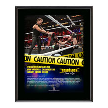 Kevin Owens RoadBlock 2016 10 x 13 Commemorative Photo Plaque